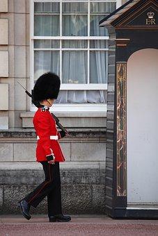 Armed, Buckingham, Palace, Duty, England, English