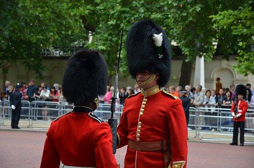 Guards, Queen, Parade, England, Royal, Queen's Guard