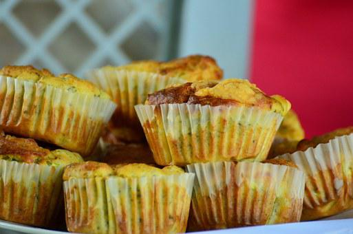Muffins, Pastries, Small Cakes, Delicious, Birthday
