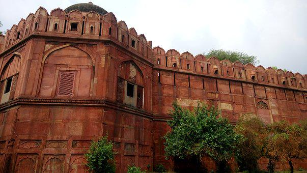 Old Fort, Red Building, Old Era, King's Palace