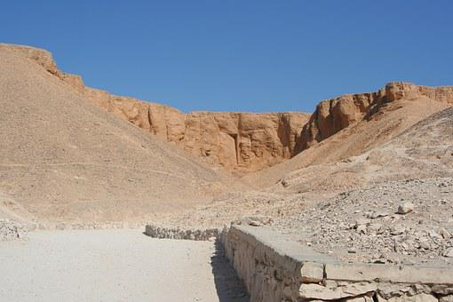 Egypt, Valley Of The Kings, Grave, Ancient, Rock