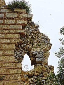 Ruins, Derelict, Bricks, Crumbling, Old, Disintegration
