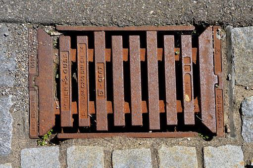 Stainless, Grid, Lid, Road, Cover, Iron, Metal, Graphic