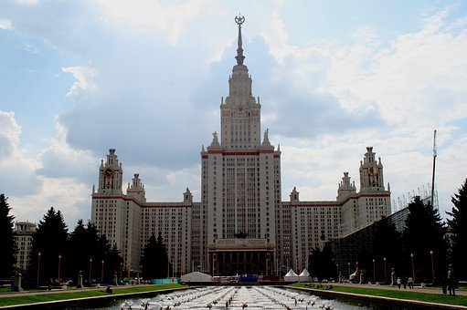 Mosco State University, New, Modern, Stalinist Era