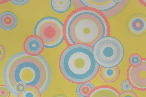 Wallpaper, 70s, 80s, Circle, Texture, Pattern
