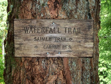 Sahalie Falls, Carmen Reservoir, Trail, Hiking
