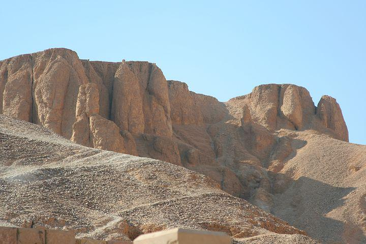 Egypt, Valley Of The Kings, Grave, Ancient, Sky, Rock