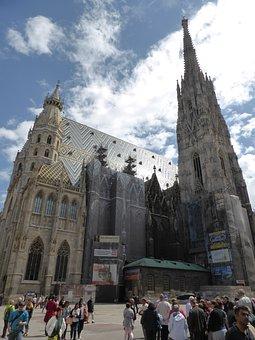 St Stephen's Cathedral, Vienna, Austria, Downtown