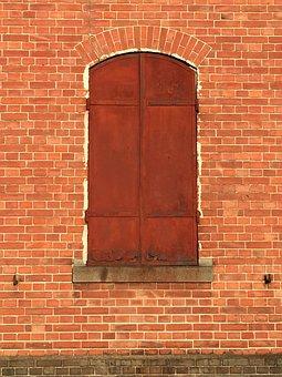 Brick, Red Brick, Warehouse, Meiji Era, Maebashi, Gunma