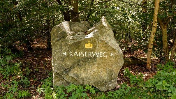 Waymark, Stone, Direction, Route, Waymarking, Kaiserweg