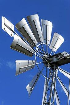 Windmill, Wind Power, Wing, Environmental Technology