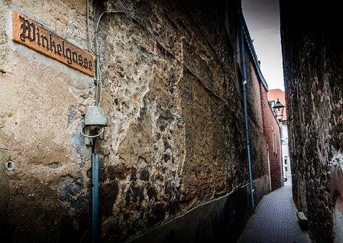 Alley, Building, Historic Center, Lane, Passage, Eng