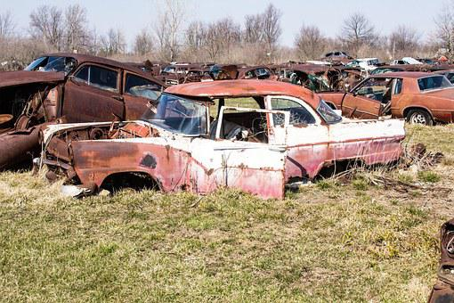 Junk Yard, Rusty, Rusty Stuff, Autos, Cars, Obsolete