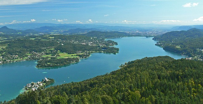 Wörthersee, Carinthia, East Side, Maria Wörth