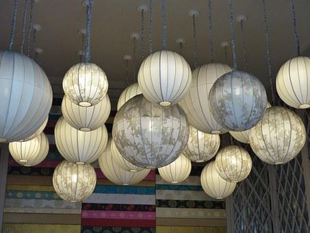 Vietnam, Chinese Lanterns, Design, Ceiling Lights