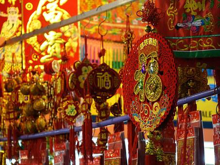 Singapore, China Town, Colorful, Chinese, Decorative