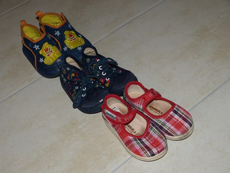 Shoes, Children's Shoes, Series, Clothing, Child