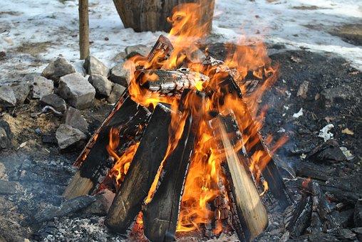 Fire, Koster, Flame, Bonfire, Coals, Burns, Fever