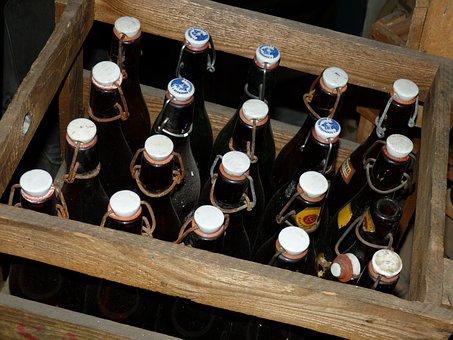 Box, Bottles, Liquid, Drink, Alcohol, Glass, Beer