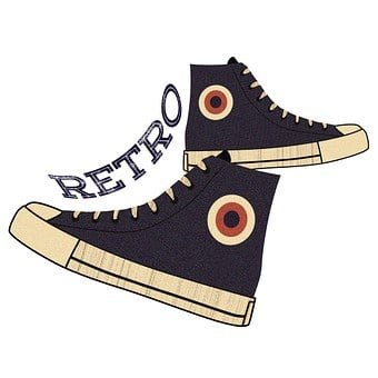 Retro, Footwear, Vintage, Fashion, Old, Shoe, Style