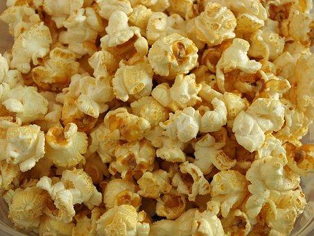 Popcorn, Fast Food, Cinema, Snack, Crunchy, Sweet, Food