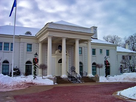 Madison, Wisconsin, Governor's Mansion, House, Building