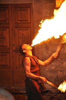 Artist, Fire, Juggler, Lucignolo, Fire Eaters