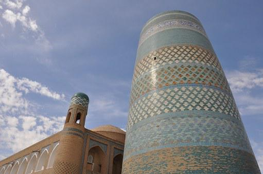 Uzbekistan, Khiva, Melly Tadena Minor