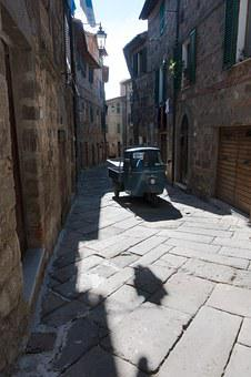 Ape, Piaggio, Retro, Kleinstlastwagen, Middle Ages