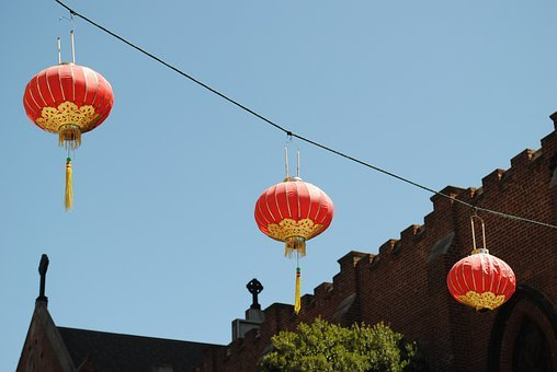 Lanterns, Chinese Lanterns, Culture, Festival