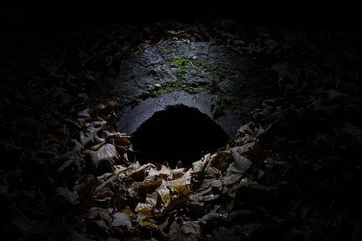 Tunnel, Dark, Creepy, Ghostly, Passage, Tube, Light