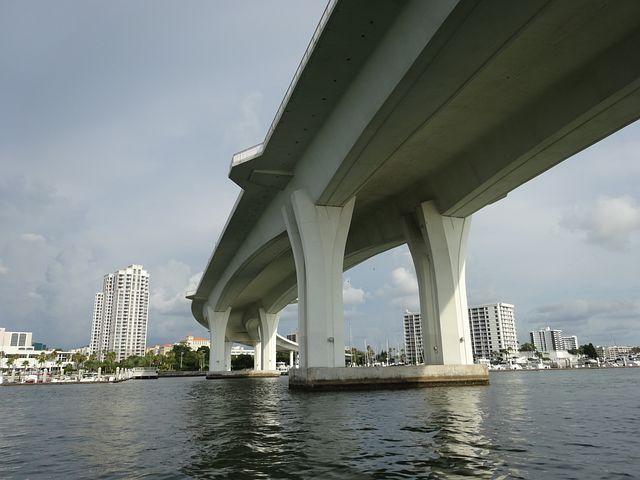 Bridge, Mar, Ocean, Clearwater