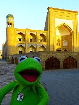 Khiva, Morning, Medrese Kutlug Murad Inag