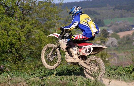 Motorcycle, Cross, Motocross, Motocross Ride