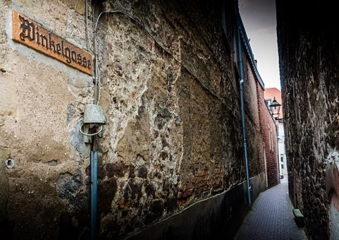Alley, Building, Old Town, Lane, Passage, Eng