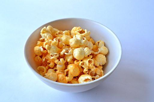 Popcorn, Snack, Food, Cinema, Movie, Corn, Delicious