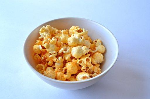 Popcorn, Snack, Food, Cinema, Movie, Corn, Delicious