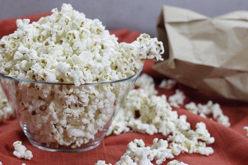 Popcorn, Cinema, Movie, Eat, Itch, Food, Corn