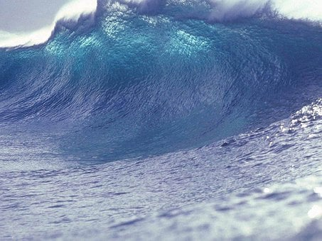 Wave, Water, Sea, Tsunami, Giant Wave, Risk, Force
