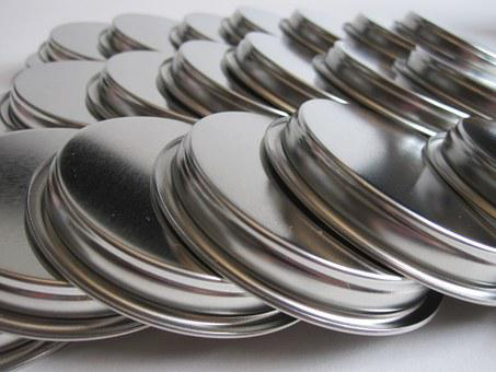 Lids, Metal, Closure, Glance, Locking Means, Row, Rows