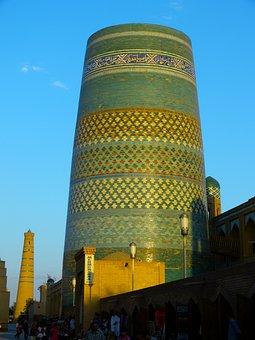 Khiva, Minaret, Kalta Minor, Short Minaret