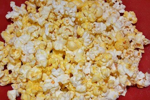 Popcorn, Snack, Food, Tasty, Treat, Movies, Cinema