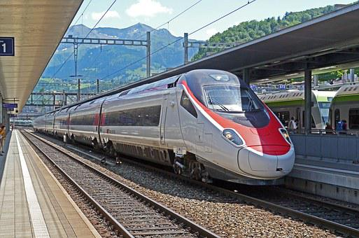 Ice, Milano, Basel, Sbb, Spiez, Switzerland