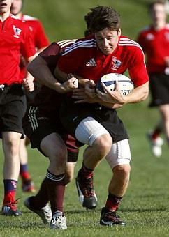 Rugby, Game, High School, Competition, Sport, Tackle