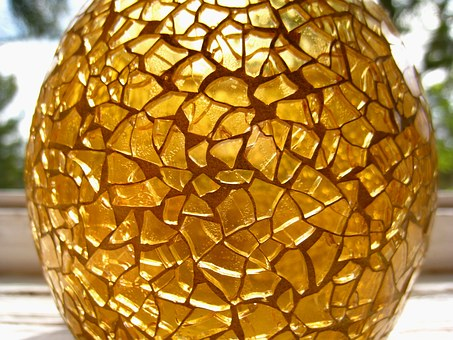 Tealight, Mosaic Tealight, Candle, Tiffany Glass