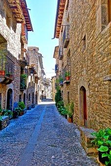 Alley, Backstreet, Cobbled, Alleyway, Narrow, Street