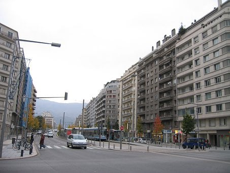Grenoble, Grands Boulevards, Avenue, Boulevard