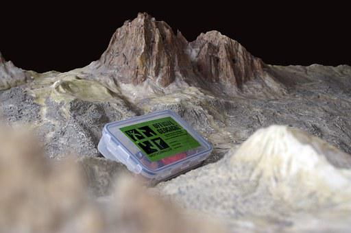 Geocaching, Mountain, Alps, Italy, Dolomites, Landscape