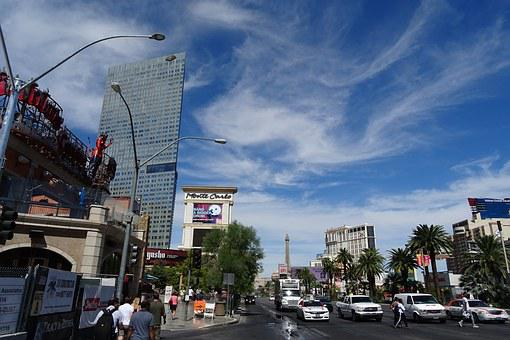 Las Vegas, City, Boulevard, Strip, Entertainment