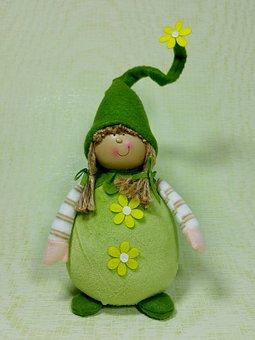 Imp, Spring, Green, Funny